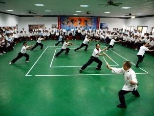 禮堂:練拳、練劍
