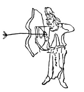 敦煌藏品:唐朝道家前人繪製「電神圖」
